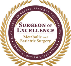 1st Indian Surgeon of Excellence in Metabolic & Bariatric Surgery